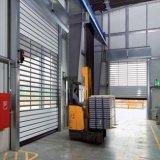Porte en métal de roulement de vitesse rapide de système électrique
