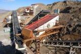500tph estacionário de esmagamento de minério de ferro e de triagem