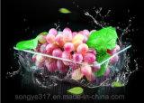 Bandeja fresca transparente da fruta da bandeja do supermercado