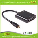 Micro- HDMI van de hoge snelheid Mannetje aan VGA Vrouwelijke Kabel