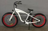 """새로운 26 """" 48V 500W를 가진 강력한 뚱뚱한 타이어 전기 자전거"""