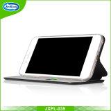 Slim Ultra fino colorido 360 TPU PU capa de telefone celular de couro para iPhone 5 5s Se 6 7 Slot de cartão Kickstand