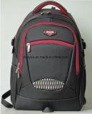 """Zoll-Multifunktionsnylonlaptop-Rucksack-Beutel des China-Lieferanten-15.6 """", schwarzer praktischer Art-Arbeitsweg-Laptop-Rucksack für Reise"""