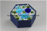 Flor hecha a mano de la decoración de la Navidad de la flor artificial