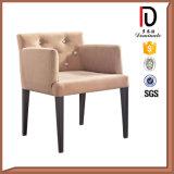 Único Moderno elegante comedor sillas con reposabrazos