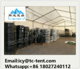 Grande tenda di lusso esterna del magazzino della tenda foranea con la parete dell'ABS