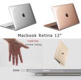 """Peau claire dure en plastique en cristal transparente de couverture de cas rétine pour MacBook 12 """""""