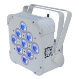 a PARIDADE lisa do diodo emissor de luz de 9PCS*15W 5in1 Rgbaw pode iluminar-se, PARIDADE lisa do diodo emissor de luz do disco DMX pode