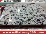 Mable Texture aluminium Panneau alvéolé pour la cuisine
