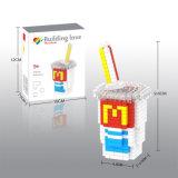 los bloques de la serie del alimento del kit del bloque 14889226-Micro fijaron el juguete educativo creativo 280PCS - cola de DIY