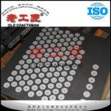 Chevilles de Dic de blanc de carbure cimenté du tungstène Yg6 avec le trou