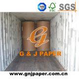 Brown recicl estável Kraft/papel do ofício no rolo para o saco