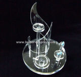 Hight Quality Acrylic Rotating Jewelry Display Stand