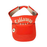 Sombrero bordado oro del papá del panel de la alta calidad 6 del casquillo de los deportes de la tela cruzada del algodón de las gorras de béisbol y de los sombreros de la insignia