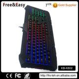 Клавиатура разыгрыша ключей USB 104 Backlight радуги цветастая СИД для PC