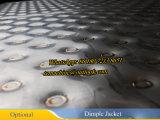 Tanque de mistura do aço inoxidável com revestimento da ondulação