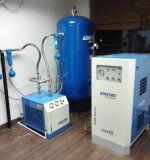Compresseur exempt d'huile d'air dentaire de défilement de laboratoire monté par réservoir (KDR308D-50)