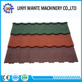 Mattonelle di tetto rivestite di Nosen del metallo della costruzione della pietra facile del materiale da costruzione