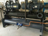 120ton de hoge Efficiënte Harder van het Water van de Schroef van de Compressor van de Schroef Bitzer/Hanbell Water Gekoelde
