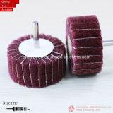 50 * 25 * 6mm, roda de flange de óxido de alumínio não tecido para aço de polir