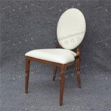 椅子を食事するYc-Ss38金属の革ローズの金