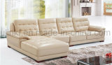 Sofà commerciale di alta qualità 2017 del sofà all'ingrosso del cuoio (UL-NSC046)