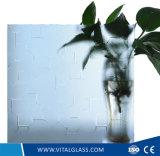 Néon desobstruído/vidro modelado de Moru para o vidro da mobília