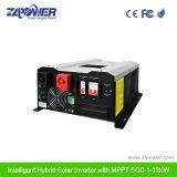 8000W-12000W AC/Solat die van de Hybride Omschakelaar van het Net met 60A MPPT belasten