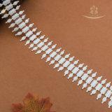 Nuovo fornitore del merletto del collare del collo del cotone di Chantilly di stile