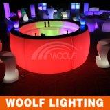 Contador portable luminoso de la barra del club LED del jardín del diseño del contador de la barra del club del LED