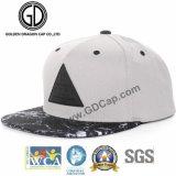 Крышка Snapback черноты шлема высокого качества 2017 приспособленная таможней с кожаный заплатой