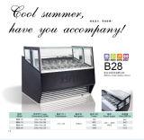 Congelador elegante e acessível de sorvete Premium