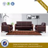 Mobiliário de escritório moderno sofá em pele genuína Office sofá (HX-CF021)