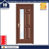 Portello di legno composito di legno della stanza da bagno della vetroresina dell'impiallacciatura del PVC dell'interiore