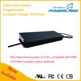 excitador impermeável do diodo emissor de luz da tensão constante programável ao ar livre de 336W 24V