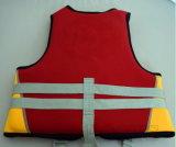 Giubbotto di salvataggio gonfiabile della maglia del neoprene adulto per canottaggio di nuoto