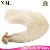 Estensioni reali di fusione dei capelli umani di Remy dei fili della cheratina 100 di vibrazione di estensioni dei capelli umani di punta di estensioni U dei capelli umani