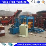 Machine automatique de fabrication de briques à pavé roulant rouge avec Ce