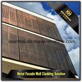 2017 panneaux de mur en aluminium percés par vente chaude pour le revêtement et la décoration de façade