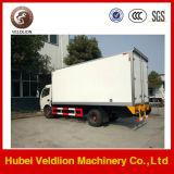 Caminhão refrigerando Refrigerated pequeno da caixa do caminhão de Dongfeng 3-4ton