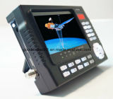 "4.3 "" LCD Monitor mit Satellitenmeßinstrument"
