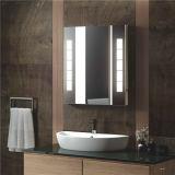 Hotel Vanity encendido LED de retroiluminación de la pantalla táctil de baño espejo cuadrado