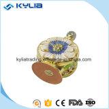 bouteille de parfum en cristal en métal d'or de 12ml 15ml Mpb-16