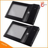 48 LED imprägniern LED-Solarbewegungs-Fühler-angeschaltenes helle Lampen-Sonnenkollektor-Licht-im Freienwand-Licht