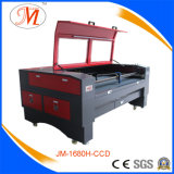 Machine Spécial-Structurée de laser Cutting&Engraving avec l'appareil-photo d'emplacement (JM-1680H-CCD)