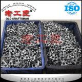 Carburo del metal del carburo cementado del tungsteno que ajusta la calza de Idsn