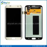 携帯電話はSamsung S7の端のためのLCDの表示画面を分ける