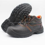 Travail de sécurité de la protection des chaussures en cuir avec Steel Toe/chaussures de sécurité