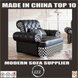 Sofa de cuir véritable de meubles de Daybed pour la salle de séjour