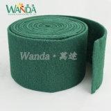 Tampone a cuscinetti per lucidare abrasivo del rilievo di raschiatura di pulizia industriale resistente in rullo